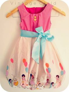 I love Alicia Paulson. Isn't this little dress sweet? The pattern ...