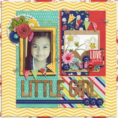 Love you little girl - Scrapbook.com