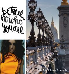 Be #true to who you are. For me, that means travelling, and #France...