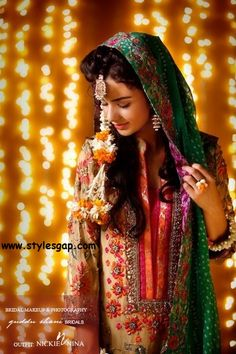 Top, Latest superb pakistani mehndi dresses collection | StylesGap.com