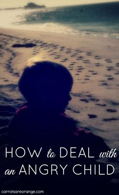 A few ideas garnered from many resources on how to deal with an angry child.