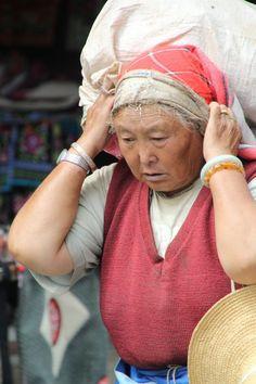 Old lady #dali #china #chinese #lady #portrait