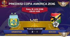 Prediksi Copa America 2016 Grup D Argentina vs Bolivia, dimana jadwal pertandingan antara Argentina vs bolivia akan berlangsung pada tanggal 15 Juni 2016 jam 09.00 Waktu Indonesia Bagian Barat. Per…