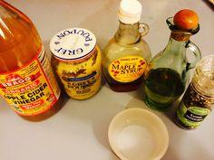 Maple Mustard vinaigrette