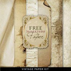 Freebies Vintage Paper