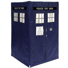 ThinkGeek :: Doctor Who TARDIS Play Tent