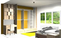 Talk to our designers about your space. We use state of the art design software to help you visualise your home. Fitted Wardrobes, Sliding Wardrobe, Bedroom Wardrobe, Wardrobe Design, Sliding Doors, Your Space, Home Office, Software, Designers