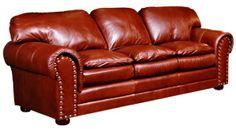 Omnia Furniture Torre Leather Furniture Sofa