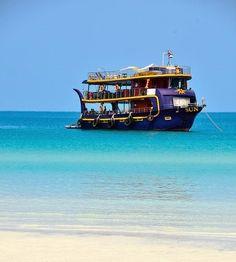 Koh Rong Samloem, Boat, Vehicles, Vacation, Dinghy, Boats, Cars, Vehicle