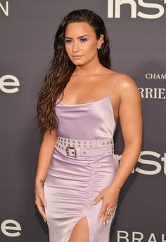 Demi Lovato at the 3rd Annual InStyle Awards, Los Angeles (23 October, 2017)