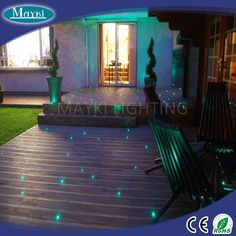 2016 LED floor path light for home star light decoration using with pvc costing fibers and emitter