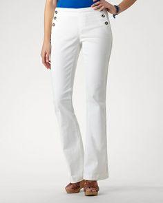 Easy denim sailor jeans - Coldwater creek 2013