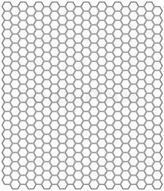 Hexagon Template - Hledat Googlem