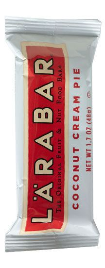 perfect snack with a healthy dose of coconut oil... most larabars (without peanuts) are paleo-friendly