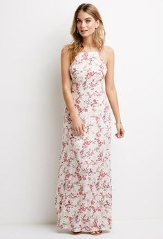 Floral Print Maxi Dress | Love21 - 2000097214