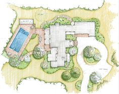 Kathryn Jones has pinned unique visuals of Unique Landscape Plans Landscape Garden Design Plans on Wisatakuliner.xyz to give some concepts for the pl. Landscape Architecture Drawing, Garden Design Plans, Modern Landscape Design, Modern Garden Design, Garden Architecture, Landscape Plans, Modern Landscaping, Landscaping Tips, Garden Landscaping