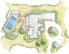 Residential Landscape Architecture Plan