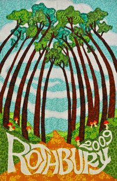 Rothbury 2009 Festival Poster by SweetMelis72 on Etsy, $20.00