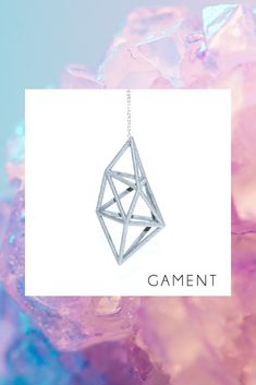 Inspired by naturally occurring crystals 3D printed for you ! #geometricjewelry #3dprintedjewelry 3d Printed Jewelry, Geometric Jewelry, Colour Board, Order Prints, Sterling Silver Chains, Geometry, Jewelry Collection, 3d Printing, Fashion Accessories