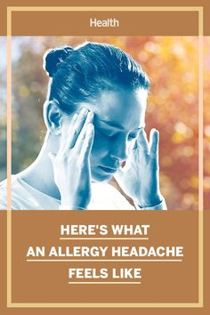 Headaches are one of the most common types of pain. But while some headaches—like cluster headaches and tension headaches—can occur on their own without a specific reason, other headaches can be related to outside circumstances, like allergies. Read on for more reasons and how to ease the pain. #allergies #headaches Allergy Shots, Mold Exposure, Cluster Headaches, Sinus Congestion, Head Pain, Tension Headache, Cleveland Clinic