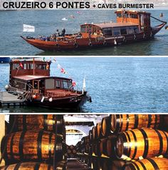 Six bridges cruise, plus oporto wine tastings