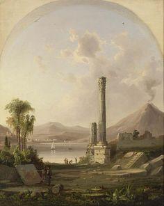 Pompeii by Robert S. Duncanson