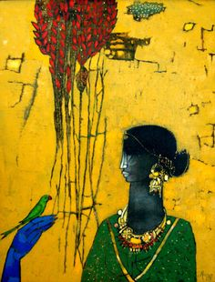 Pakistani artist, Abrar Ahmed