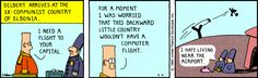 The Dilbert Strip for April 4, 1990