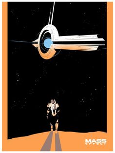 Salary Man - Mass Effect Posters