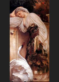 Lord  Frederick  Leighton   ´´Odalisque´´ .