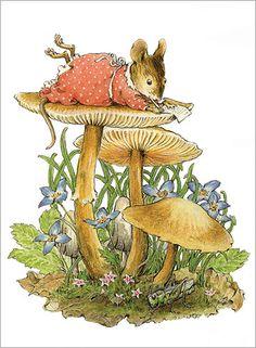Mushroom Note by Willy Petersen