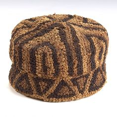 Basketry Container Kasai Region DR Congo First half 20th century Raffia and natural fibers