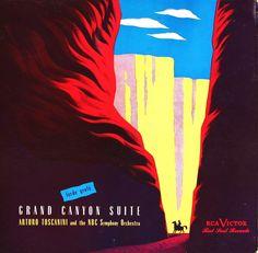 I have this album! Vintage album cover: Grand Canyon Suite