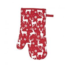 Protect your hands and your tables from hot pots & pans with the Harman Christmas Combo Kitchen Oven Mitt & Trivet Combo finished in red Reindeer. Be safe, yet still festive this holiday season.    Whether you're looking for stocking stuffers, Secret Santa presents, festive Christmas decor or even gift cards, we have a huge selection of unique holiday stuff to make your days and nights merry and bright.