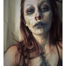 Just a reference for a doll that I am going to be making, Yes its makeup Unicorn Halloween, Halloween 2015, Halloween Makeup, Halloween Costumes, Halloween Ideas, Creature Movie, Siren Costume, Maquillage Halloween, Sfx Makeup