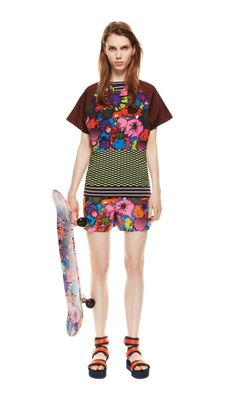 #MMissoni | #Cartoon Top & Shorts | Spring 2014 Collection