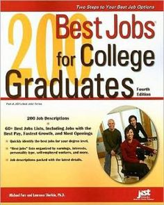 A book containing the 200 best jobs for college graduates!