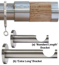 Westminster 35mm Satin Nickel Pole Set with Light Oak Cylinder finials  Ref: H6043F/LOK/MN Westminster 35mm Satin Nickel Pole Set with Light Oak Cylinder finials  £99.95 (Including VAT at 20%)