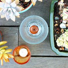 Gemstone Votives #luluandgeorgia #tabletop