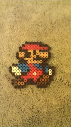 Mario perler by sensationcreations12 on Etsy, $3.50