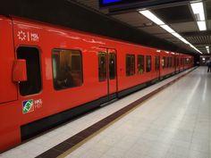 The Helsinki Metro is the world's northernmost metro system. #travel #finland #scandinavia #europe #helsinki #suomi #metro #nordic