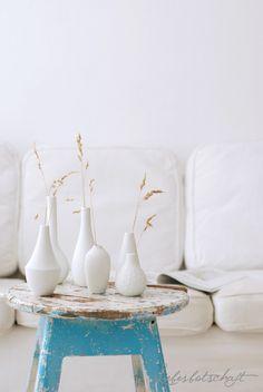 Unsere Mini Vasen bei der Liebesbotschaft