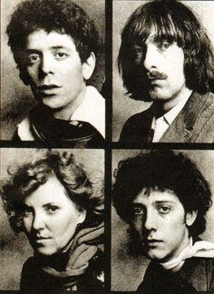 The Velvet Underground in 1970 last= doug yule - Lou Reed, Sterling Morrison, Maureen Tucker & Doug Yule Maureen Tucker, Great Bands, Scene, Velvet, Animation, Photography, Image, Yule, Om