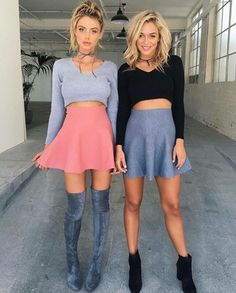There is 0 tip to buy shoes, lace up boots, brown boots, knee high boots. Help by posting a tip if you know where to get one of these clothes. Girly Outfits, Skirt Outfits, Fall Outfits, Summer Outfits, Casual Outfits, Cute Outfits, Girl Fashion, Fashion Outfits, Friend Outfits