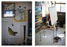 Jason Woodside, Painter, NYC : Where They Create by Paul Barbera