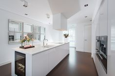 Witte design keuken Snaidero way via Tieleman Keukens