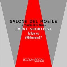 EVENT SHORTLIST salone del mobile 2017 | RoombyRoom | Interior Design Blog - Italia