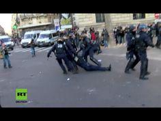 Schwere Ausschreitungen in Paris: Bei Protest gegen Polizeigewalt zwei Polizisten verletzt — RT Deutsch