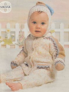 Hey, I found this really awesome Etsy listing at https://www.etsy.com/listing/218629106/vintage-baby-knitting-pattern-pdf-for