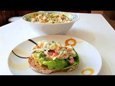 ΤΟΝΟΣΑΛΑΤΑ!!! - YouTube Greek Recipes, Tuna, Guacamole, Salads, Food Porn, Tacos, Mexican, Cooking, Ethnic Recipes